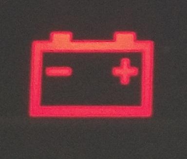 バッテリー警告灯